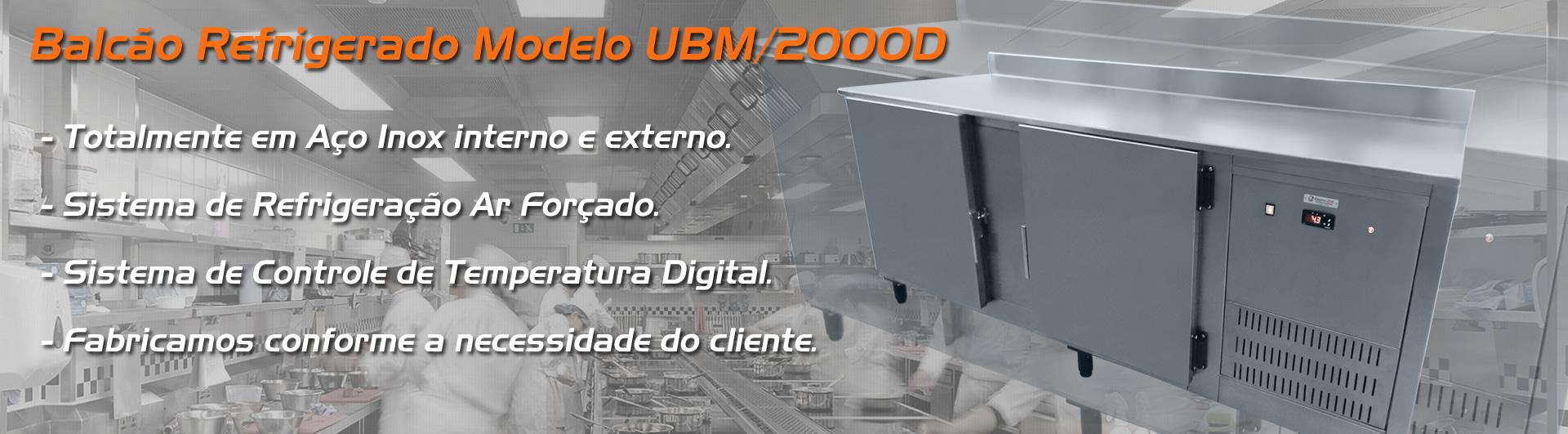 Balcão Refrigerador UBM/2000D